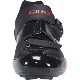 Giro Apeckx II Schoenen Heren, black/bright red